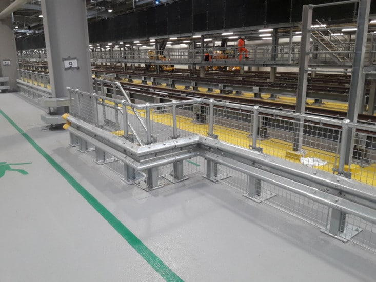 Internal Armco Barriers