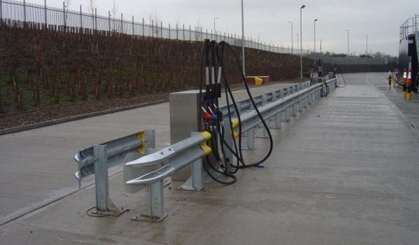 External Armco Barrier Installation